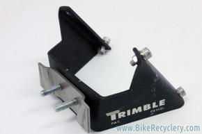 Trimble Water Bottle Cage Adapter: Saddle Rail Mount - 1990's Vintage - Black - Rare