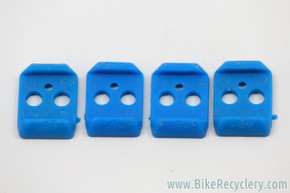 NOS Onza H.O. Pedal Elastomers: Blue - Firm (Set of 4)