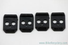 NOS Onza H.O. Pedal Elastomers: Black - Extra Firm (Set of 4)