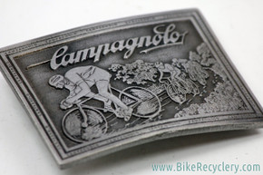 Campagnolo Belt Buckle: Bronze - 1975 Continental Divide - Rectangle