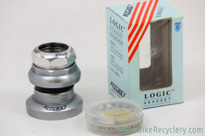 "NIB/NOS Ritchey Logic Comp 1"" Threaded Headset: Silver - 1990's"