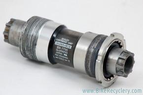 Shimano Dura Ace BB-7700 Octalink Bottom Bracket: 109.5mm x 68mm (near mint)