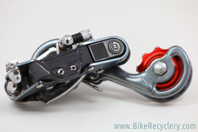 Sachs Huret DuoPar Titanio Rear Derailleur: w/ Bullseye Pulley: Ti Plates/Cages/Hardware - RARE (Near Mint+)