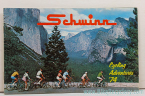 1974 Schwinn Cycles Consumer Catalog / Brochure & Price List (mint)