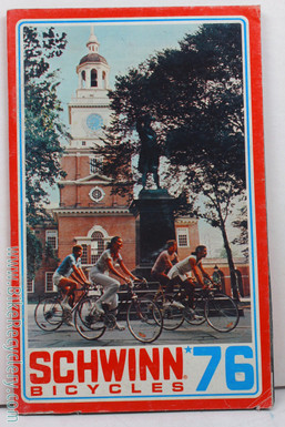 1976 Schwinn Cycles Consumer Catalog / Brochure (mint)
