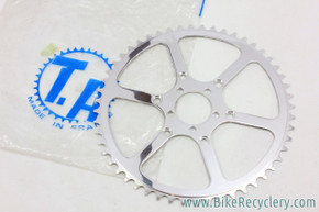 NOS/NIB Vintage Specialties TA Cyclotouriste Pro Vis 5 Outer Chainring: REF cy205 - 50t / 51t / 52t / 54t