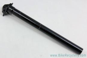 American Classic Seatpost: 28.6mm x 350mm - 1st Gen - Black (EXC)