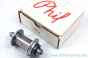 NIB/NOS 2nd Gen Phil Wood Tandem Disc Front Hub: 110mm x 36H - 3 Piece - 1970's