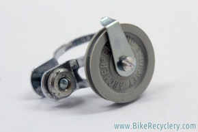 "NOS Sturmey Archer Guide Pulley & Fulcrum Clip: 1"" - Grey - HSJ.521 - Vintage 1960's 1970's 1980's"