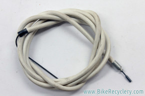 NOSVintage 3 Speed Trigger Shift Cable: White Housing - Ferrules