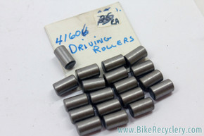 NOS 6.5mm Driving Rollers For Sturmey Archer / Perry B-100 / Torpado - HSH.428 (Lot of 19)