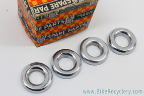 NOS Raleigh Chopper Sissy Bar Spring Cups: RMM 229/252 - Set of 4