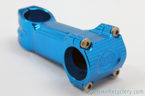 Paul Boxcar Stem: Limited Blue Ano - 90mm x 31.8mm - 15D (NEW)