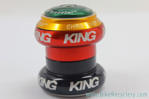 "Chris King RASTA Threadless Headset: 1 1/8"" NoThreadSet (NEW)"
