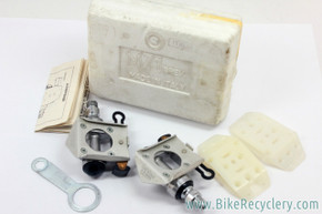 NIB/NOS Cinelli M-71 Clipless Pedals: Cleats - Tool - 1970's