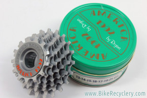 NIB/NOS Regina Extra America 7 Speed Freewheel: 13-21t - Green Tin - 1992