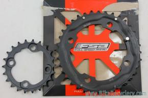 FSA 2x10 / 2x11 Chainring set: 36t & 26t - 104/64mm - Black (NEW)