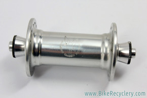 American Classic Speedster Time Trial Front Hub: Vintage 1980's/1990's - Silver - 28H (EXC+)