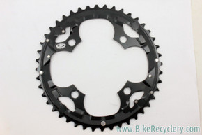 NOS Shimano Deore LX Mega9 Outer Chainring: FC-M570 - Black - 44t x 104mm