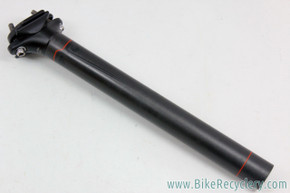 Pivot Phoenix Team Carbon Seatpost: 30.9mm - Zero Offset - Black (New Take-Off)