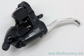 Shimano Deore LX ST-M564 Rapidfire Combo Shifter: Left/Front - Black - 3x8 Speed