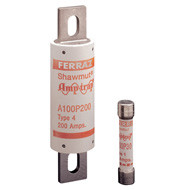 Mersen Amp-Trap Series A100, 250 Amp 1000Vac Commercial Fuse