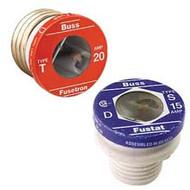 Bussmann Plug Series S, 6 1/4 amp 125Vac Commercial Fuse