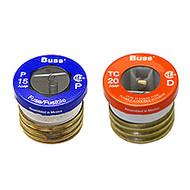 Bussmann Plug Series TC, 25 amp 125Vac Commercial Fuse
