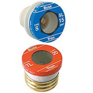 Bussmann Plug Series TL, 15 amp 125Vac Commercial Fuse