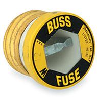 Bussmann Plug Series W, 3 amp 125Vac Commercial Fuse