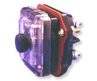 Two Pole Panel Mount Blown Fuse Indicating fuse holder  for 3AG/3AB fuses by FIC