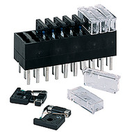 Modular Telecom Non-Blown Fuse Indicating fuse holder  for GMT fuses by Bussmann