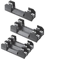 H25030-3SR 3 Pole Fuse Block for Class H Fuses, 1/10-30 Amp, 250V, Screw Terminal with Clip reinforcing springs