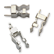 "1A1119-05 PCB Fuse Clip for 1/4"" Diameter Fuses, High Performance Copper with Silver Finish"