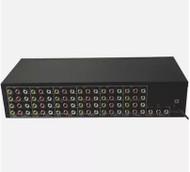 1 Input 24 Ch VIDEO AUDEO Output 24  video audio amp spliter RCA Connector AV Splitter for CCTV