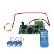 125KHZ RFID embedded entrance access control system main board /Building intercom access board +10cards