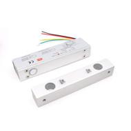 12V Wooden Door Magnetic Drop Bolt Surface mount Electric Gate Lock Timer