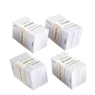 100pcs EM4100 125khz ID Keyfob RFID Tag Tags llaveros llavero Porta Chave Card Sticker Key Fob Token Ring Proximity
