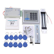 125KHz RFID ID Card Passpord Access Control System Kit Embedded Electric Magnetic Lock