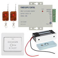 DC12V Remote control Door Entry Access Control System with 60KG Electric Lock kit