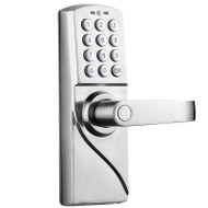 Digital Code Lock With Keypad High Security Door Lock With Emergency Override Keys