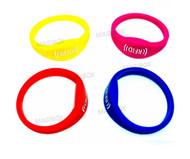 Color 125khz Rfid Waterproof Proximity ID Card EM card RFID wristbands bracelets and wrist band ID TK4100 silicone id wristband