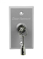 86X50 Aluminum Alloy Access Control Exit Button with Key