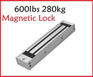 600lbs 280kg 12V electric magnetic door lock for access control