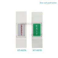 KT-A07 Narrow Type Door Exit Push Button Door release NO NC Model Door Access Control