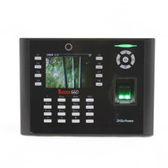 iClock660 High quality 8000 templates fingerprint time attendance
