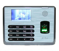 Linux system TX628/ID 3200 users fingerprint and 125KHZ FRID card reader time attendance