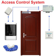 Rfid 125khz Waterproof Touch Keypad & ID Reader Door Access Control System Electric Magnetic Lock Kit