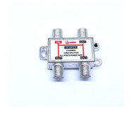 1 in 2 Satellete 2-Way Splitter With Satellite Signal input all the way For SATV/CATV TV Receiver
