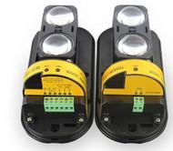 Frequency Adjustable Photoelectric 2-Beam Sensor Active Infrared Intrusion Detector Outdoor 100m Barrier Protection IR Burglar Alarm